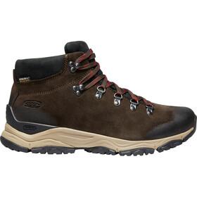 Keen Feldberg APX WP Shoes Men ebony/brown
